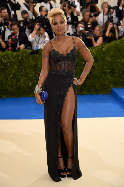 Mary J. Blige at 2017 MET Gala
