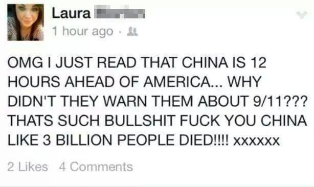 Dammit, China!
