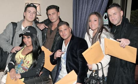 Jersey Shore Cast in the House