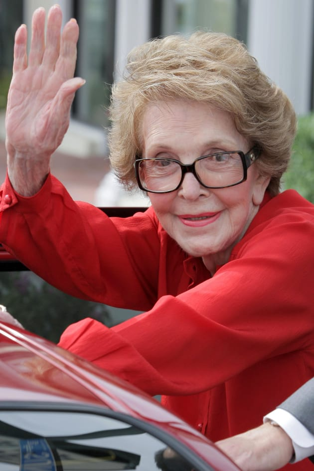 Nancy Reagan Dies; Former First Lady Was 94 - The ...