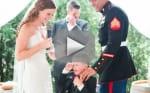 Bride Recites Vows to Husband, Stepson