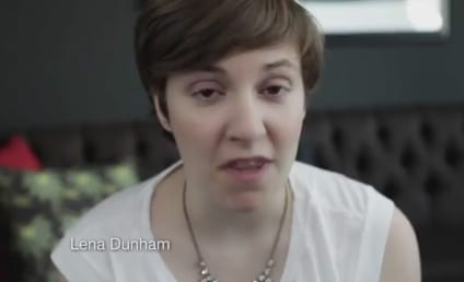 Lena Dunham Details Her First Time... Voting