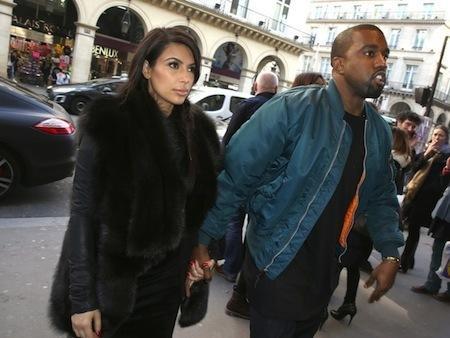 Kim Kardashian in Fur Coat