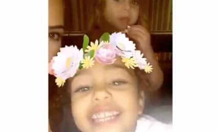 """North West & Penelope Disick Are Adorable """"Coachella Girls"""" on Snapchat: WATCH"""