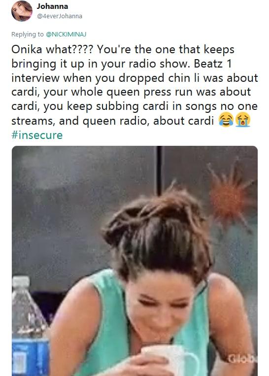 Nicki minaj vs cardi b twitter beef reactions 06