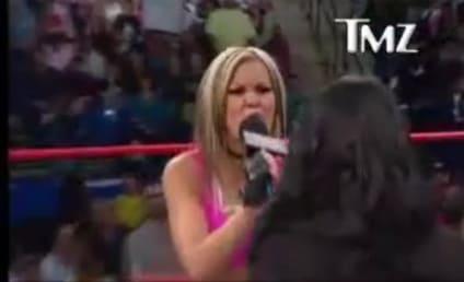 Angelina Pivarnick WHOMPED on TNA Wrestling