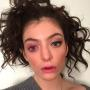 Lorde Pink Eye Pic
