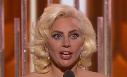 Lady Gaga Wins Golden Globe Award, Bumps Into Leonardo DiCaprio