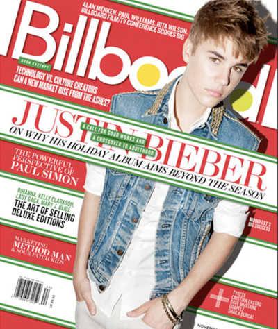 Justin Bieber Billboard Magazine Cover