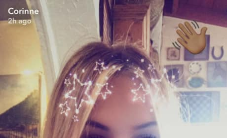 Corinne Olympios via Snapchat