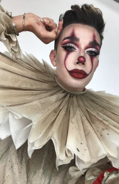 James Charles as Pennywise