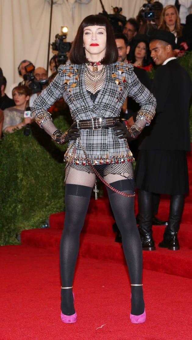 Madonna MET Gala Fashion