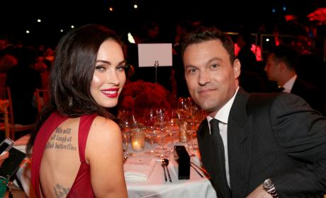 Megan Fox and Brian Austin Green: Ferrari Celebrates 60 Years Event