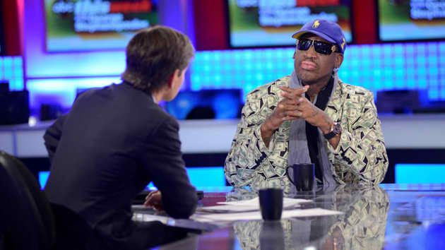 Dennis Rodman on ABC News