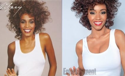 Yaya DaCosta as Whitney Houston: First Look!