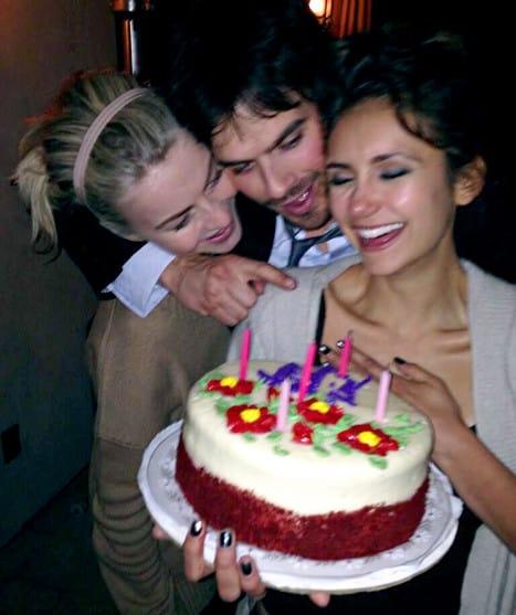 Nina Dobrev Birthday Celebration
