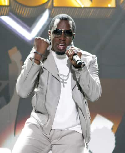 Diddy on Stage