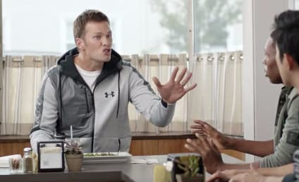 Tom Brady Mocks DeflateGate in This Foot Locker Ad