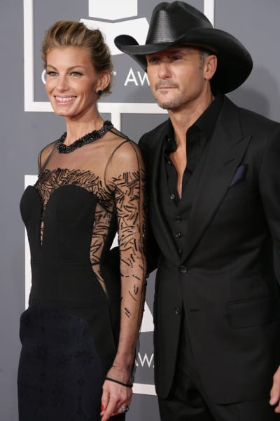 Tim McGraw And Faith Hill Grammy Photo