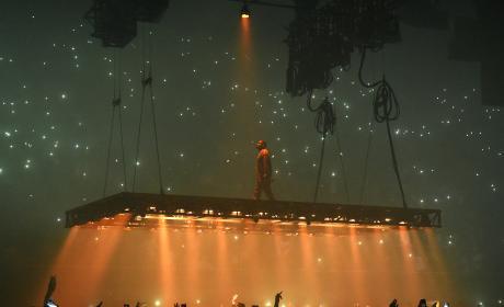 Kanye West in Inglewood