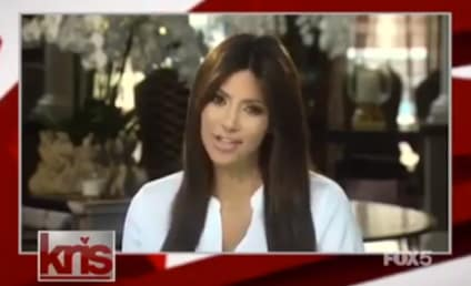 Kim Kardashian Comes Out of Hiding: Appears on Mom's Talk Show!