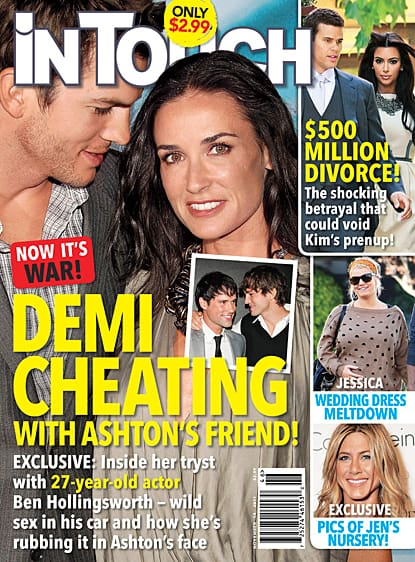 Demi Moore Affair Story