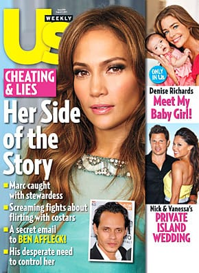 Jennifer Lopez Us Weekly Cover