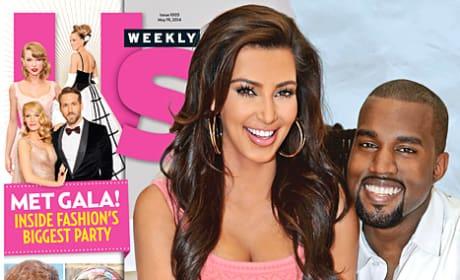 Kimye Us Weekly Cover