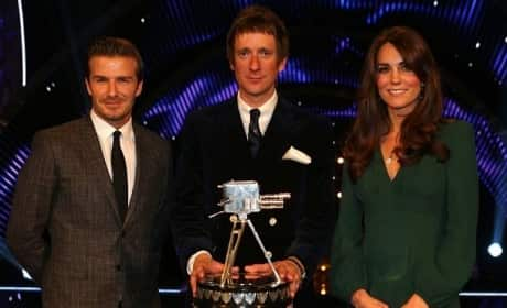 Kate Middleton and David Beckham
