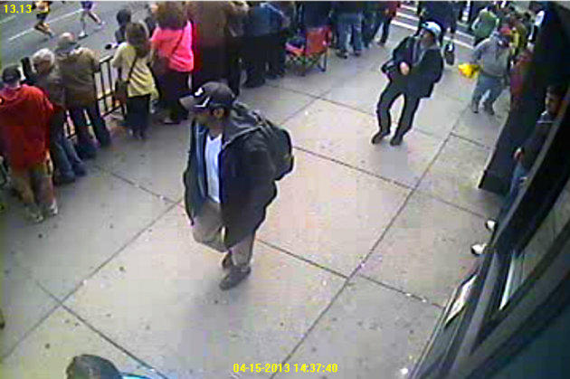 Boston Bombing Suspects Photo