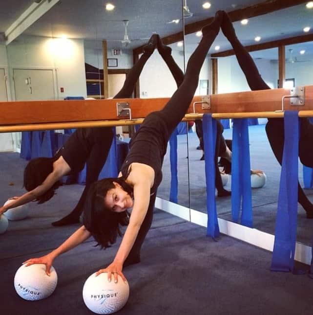 Hilaria Baldwin is Flexible