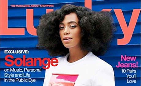 Solange Knowles Lucky Cover
