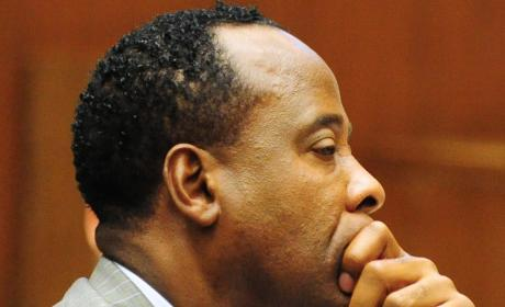 Conrad Murray in Court