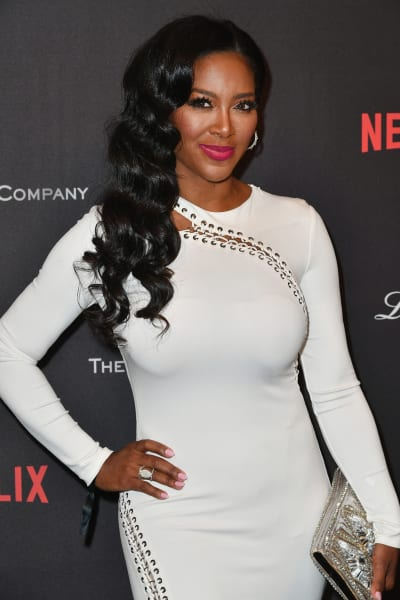Kenya Moore on a Red Carpet