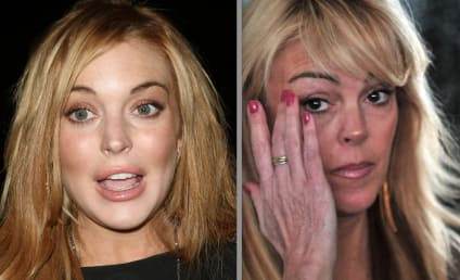 "Lindsay Lohan to Dad: ""F*%king Devil"" Mom is COKED UP!"