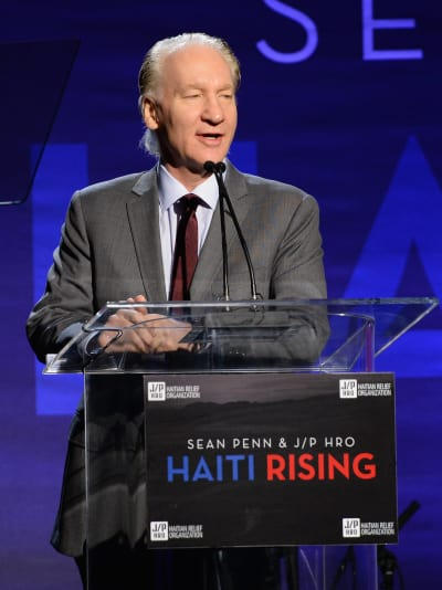 Bill Maher at a Podium