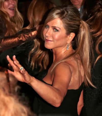 Aniston Cupping Marks
