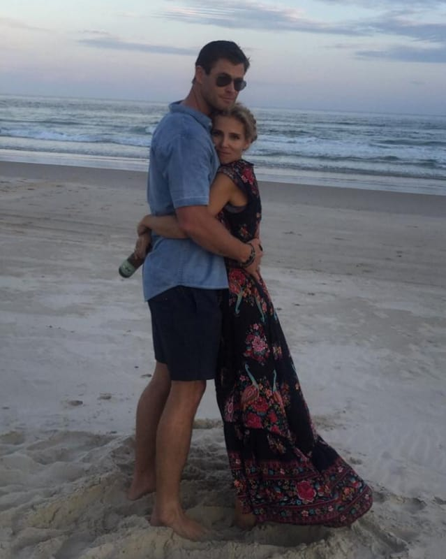 Chris Hemsworth and Elsa Pataky are ADORABLE