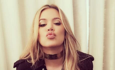 Khloe with a Kiss