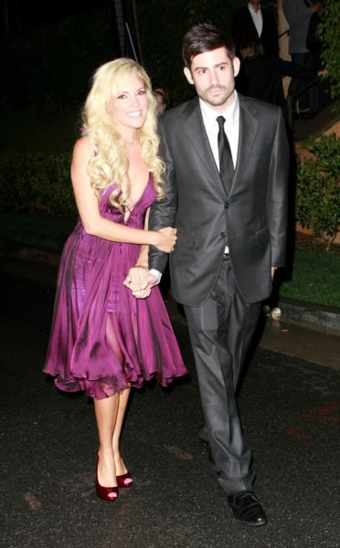 Bridget Marquardt and Nick Carpenter