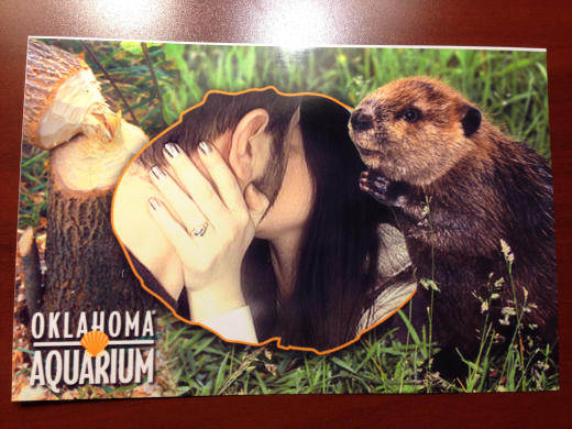 Photo Booth Engagement Pic