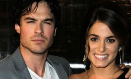 Ian Somerhalder and Nikki Reed: Kissing, Canoodling at Comic-Con!