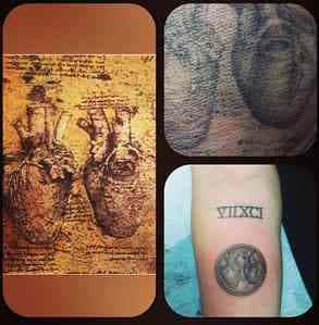 Miley Cyrus Heart Tattoo