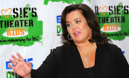 Rosie O'Donnell: Tryin' to Be a Player Hater!
