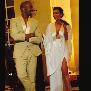 Kimye Rehearsal Dinner Photo