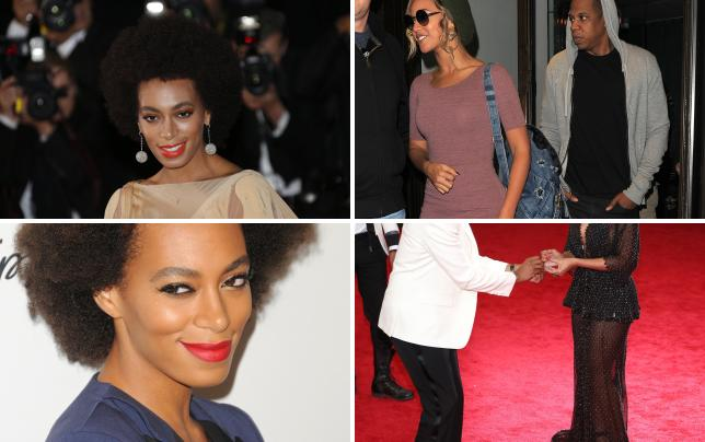 Solange has a drinking problem