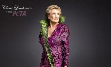 Cloris Leachman: Sort of Nude For PETA