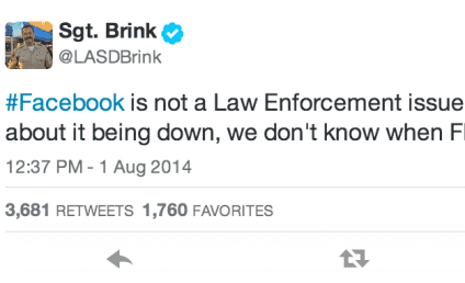 Police Tell Users to Stop Calling 911 Because Facebook is Down