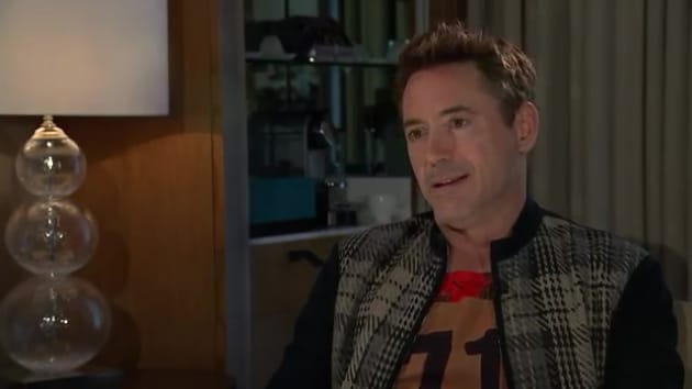 Downey Jr. Storms Out of Interview Following Questions About Drug Use ...