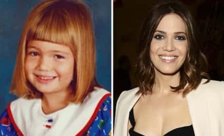Mandy Moore as a Kid
